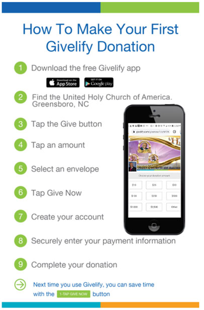 Givelify Instructions