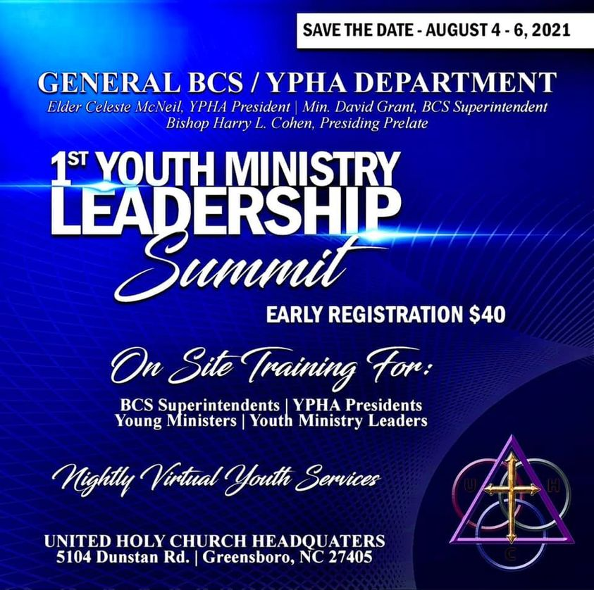 Youth Ministry Leadership Summit